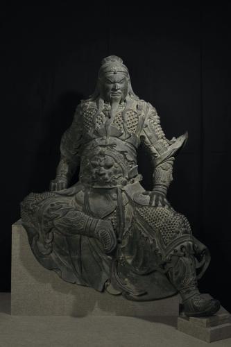 関羽像河南省・新郷市博物館蔵