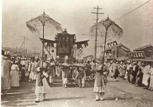 独立運動の契機となった高宗の葬列(1919年)