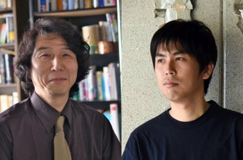 越前敏弥さん(左)、宮迫憲彦さん(右)