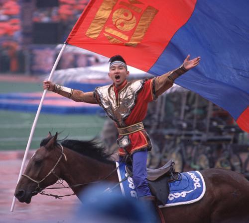 ナーダム祭 ナショナル・スポーツ・スタジアム (モンゴル・ウランバートル )