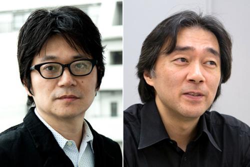穂村弘講師(左)斎藤環講師(右)