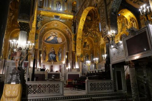 パレルモ・宮廷礼拝堂