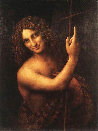 《洗礼者ヨハネ》、ルーヴル美術館