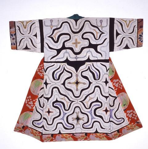 アイヌの衣装(旭川市博物館)