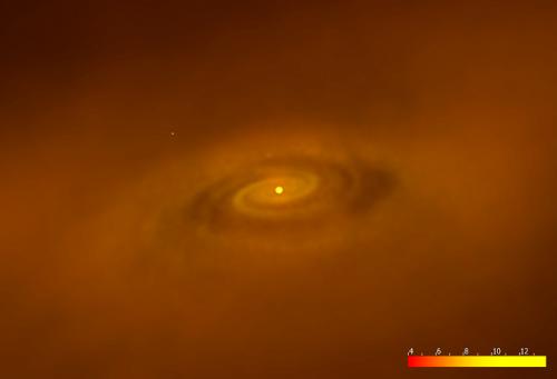 宇宙最初の星の誕生