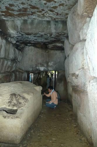 こうもり塚古墳の横穴式石室