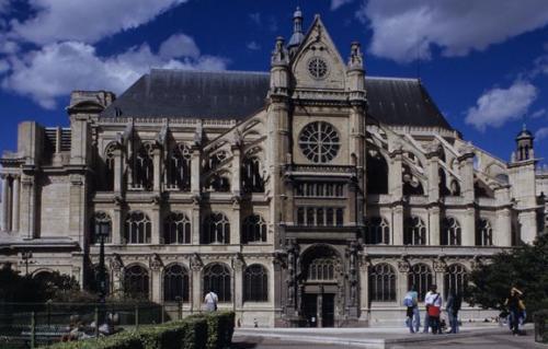 サントゥスターシュ教会堂(パリ)(講師撮影)
