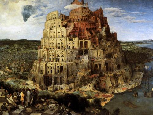 ピーター・ブリューゲル(父)《バベルの塔》 1563 ウィーン美術史美術館