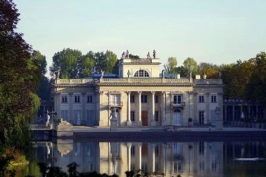 ポーランドの宮殿(ワジェンキ公園)