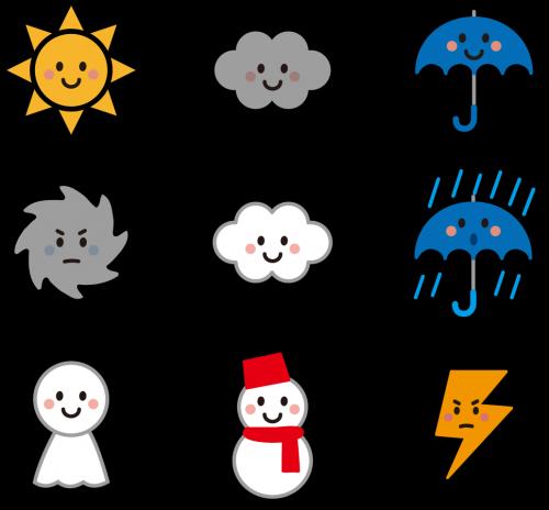 私たちの情緒は天気や気候に左右されることが多い