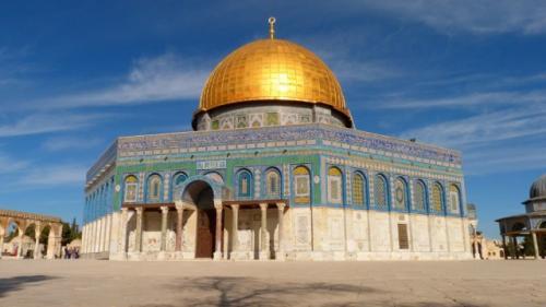 イスラム教の聖地・岩のドーム(エルサレム)