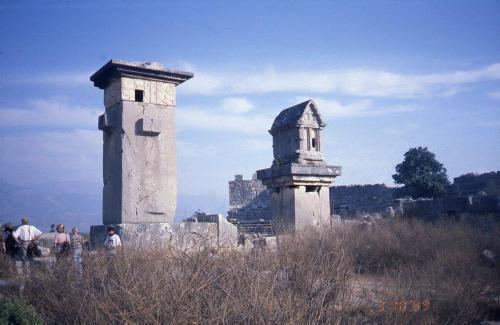 クサントスの塔墓