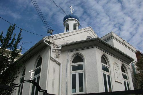 神戸ハリストス正教会の教会