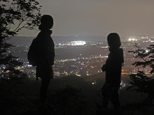 里山の闇歩き