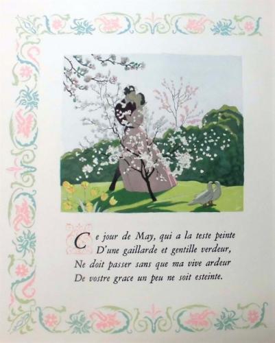 マルティ画『ロンサール愛の詩集』