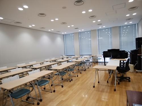 中之島フェスティバルタワー音楽教室で歌いましょう♪