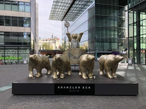 シンボルであるベルリンの熊