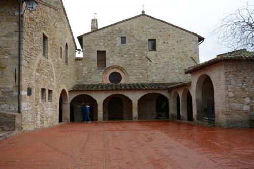 アッシジ-サン・ダミアーノ修道院