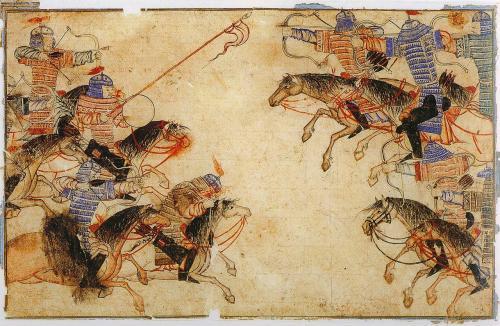 モンゴル系騎馬民族の会戦