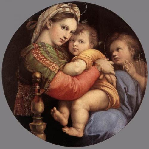 ラファエッロ《小椅子の聖母》