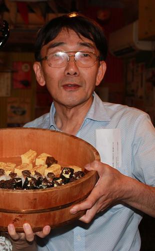 内山昭一さんと料理