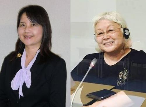 日高先生(左)、バネッサ先生(右)