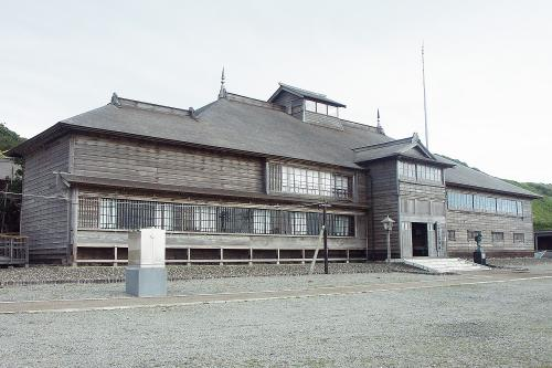旧花田番屋(重要文化財 小平町)