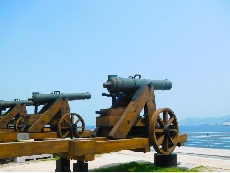 イメージ:長州砲