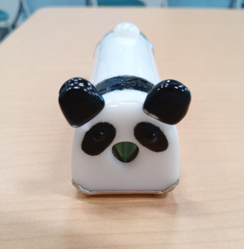 覗き口はパンダのお鼻です