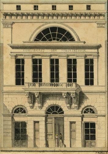 1831年に開館した旧楽友協会会館