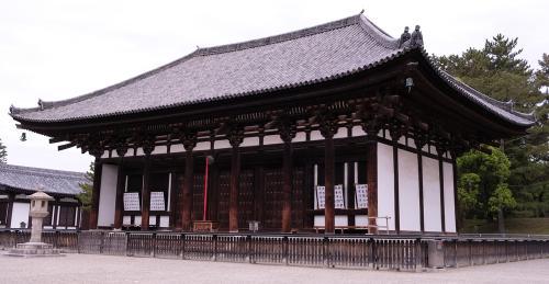 南都法相宗の興福寺(国宝東金堂)