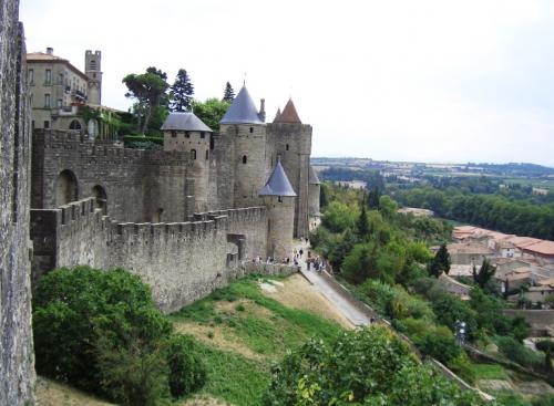 カルカッソンヌ市城壁(フランス)