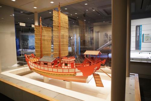 遣唐使船(福岡市博物館)