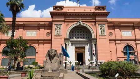 講師撮影:エジプト考古学博物館