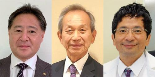左から:栗山博道先生、金森市造先生、戸田佳孝先生