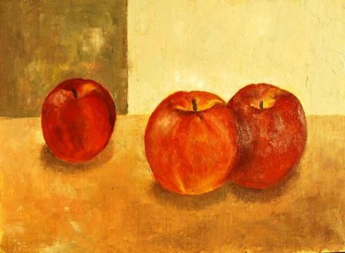 りんごを描いてみましょう