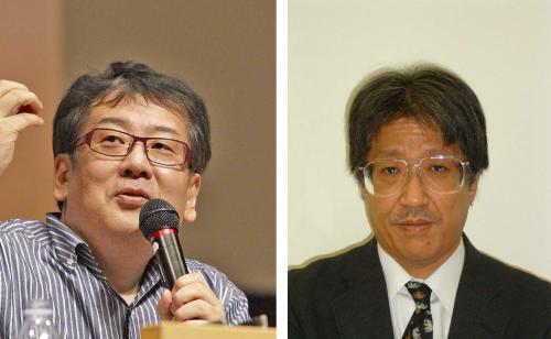 左:上野誠 右:脊古真哉