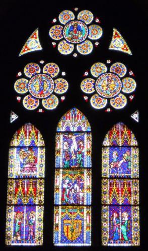 フライブルク大聖堂ステンドグラス