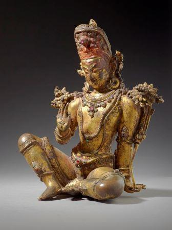 バラモン教、インドラの像
