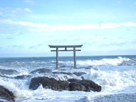 日本の神道、大洗磯前神社