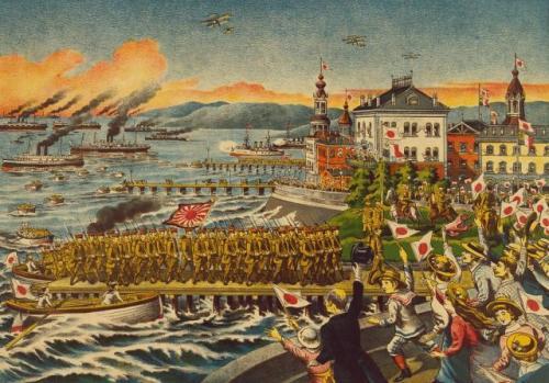 シベリア出兵を伝える日本の画報(1919年)