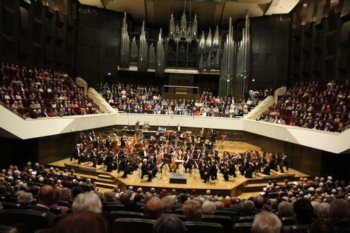 ヴィンヤード型のゲヴァントハウス大ホール