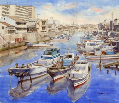 街なかの漁港