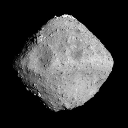 小惑星リュウグウ©JAXA、東京大学他