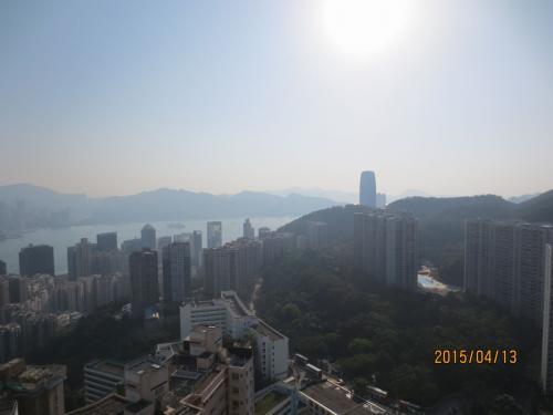 香港・樹仁大學宿舎より望む