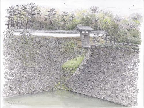 北桔橋御門