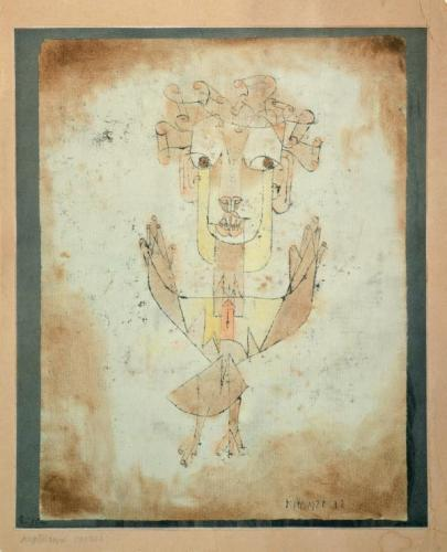 Paul Klee Angelus Novus1920