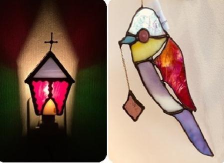 教会のおやすみライト&鳥のオーナメント