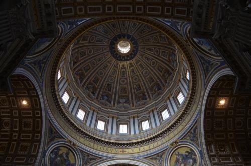 サン・ピエトロ大聖堂クーポラ(バチカン市国)