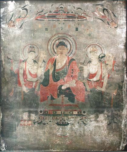 法隆寺金堂壁画(釈迦浄土図)